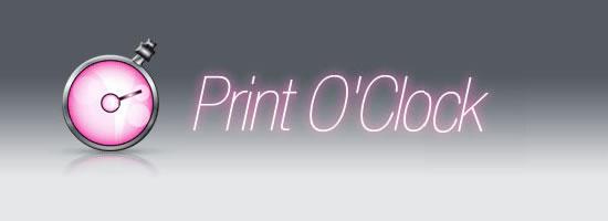 print-o-clock